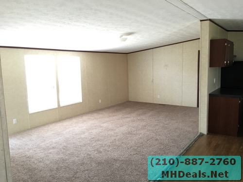 3 bed 2 bath doublewide mobile home living room 2