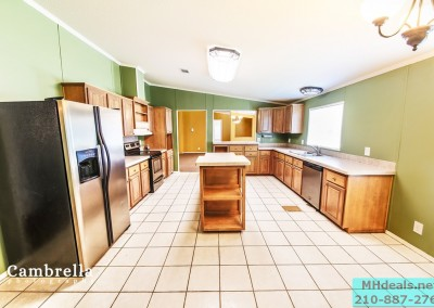 INTERIOR LAND HOME FOR SALE KITCHEN