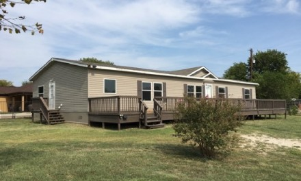 5 br 3 ba Double Wide Land Home La Cost Texas