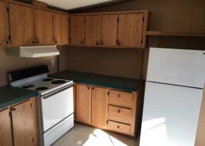 kitchen 2 Cheap good looking used singlewide-New Braunfels