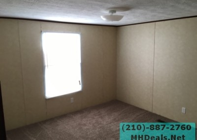 4 bedroom 2 bathroom large used doublewide manufactured home Bedroom 3