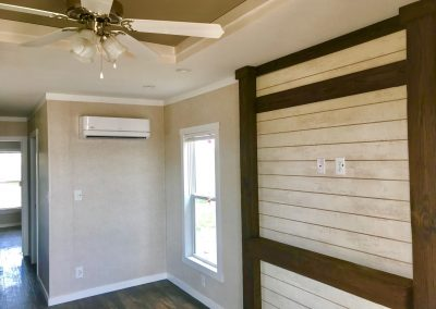 ADA-Tiny-house-Living AC-tray ceiling-entertainemt area
