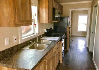 ADA-Tiny-house living-kitchen-hallway