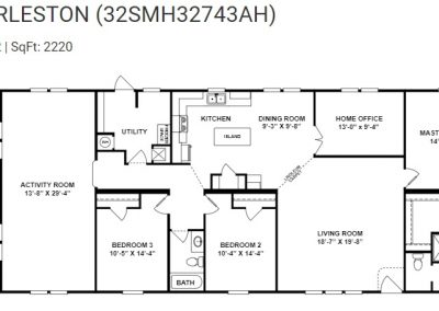 floorplan - Activity Room Standard