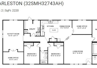 floorplan - Activity Room with Porch