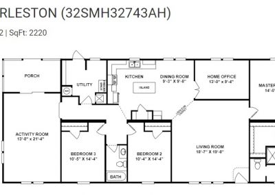 floorplan - Bedroom 4 with Bath