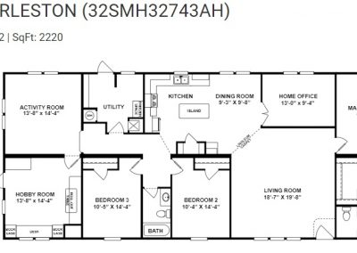 floorplan - Hobby Room Option