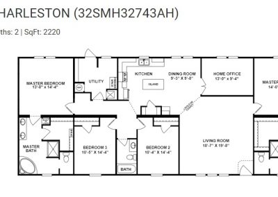 floorplan - Master Suite 2