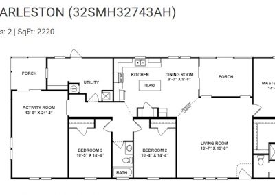 floorplan -Utility with 2 Porch option