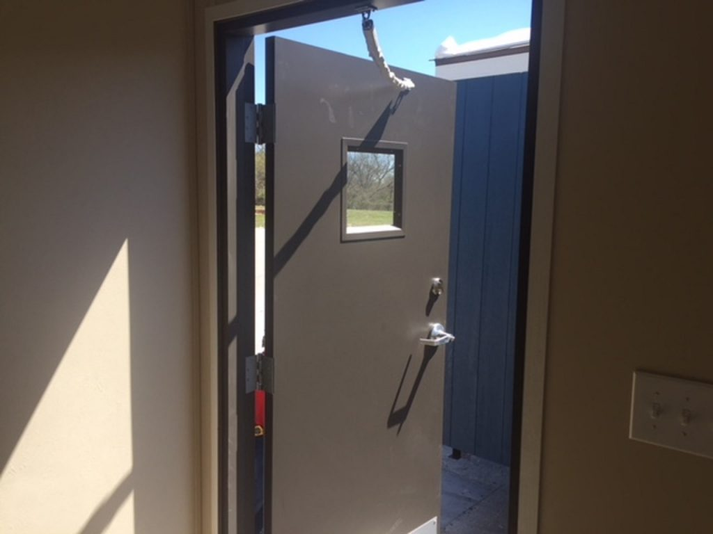 steel doors on workforce housing. built tough, built like a tank. great investment units for work sleep combinations 210-887-2760
