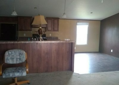 used manufactured home move in ready in a park in Victoria Texas