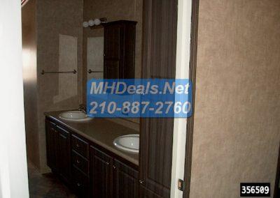 2016 Legacy Elite Master bathroom dual sink