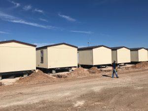 mancamp photo layout of crew quarters housing setup