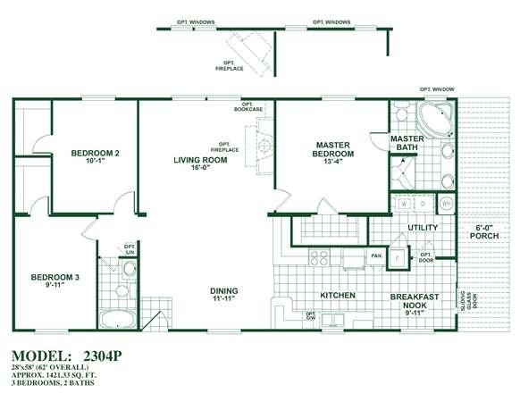 Oak creek homes double wides san antonio for South texas house plans