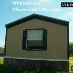 2006 OaskCreek Galaxy Used Singlewide Manufactured Home- Corpus Christi, TX 1