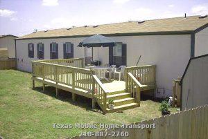 Modular Manufactured Home Transport Relevel Setup Retrofit base pads construction