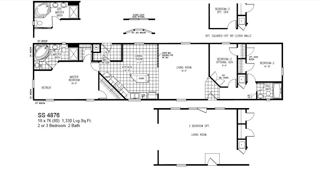 Oak Creek Modular Home Floor Plans Floor Matttroy