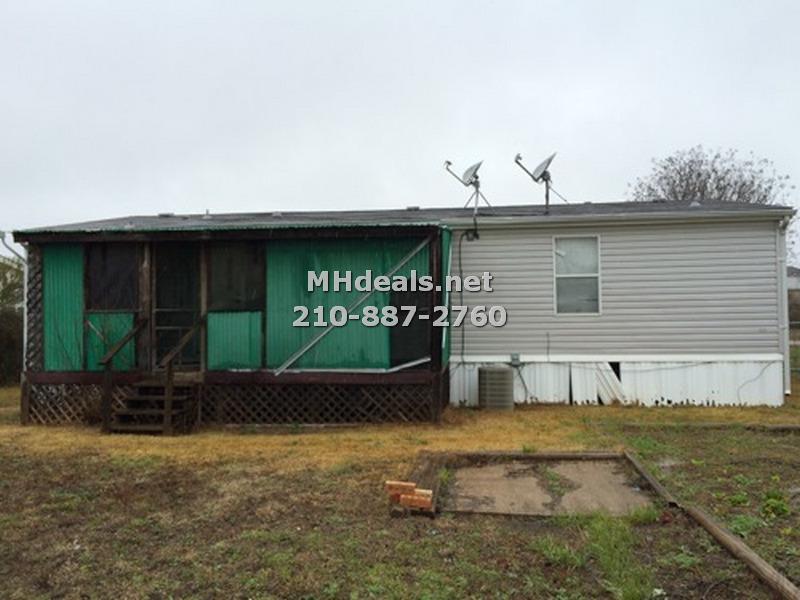 exterior 2 killeen texas mobile home foreclosure bank repo cheap