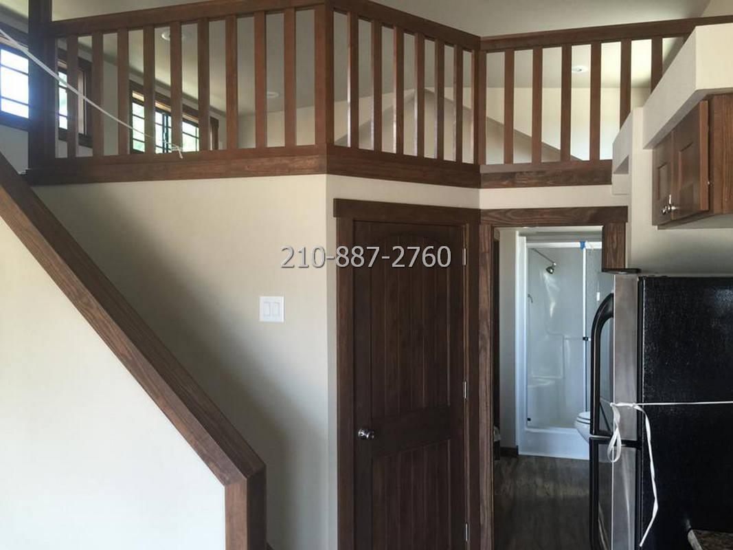1 bedroom porch model cabin with loft-09