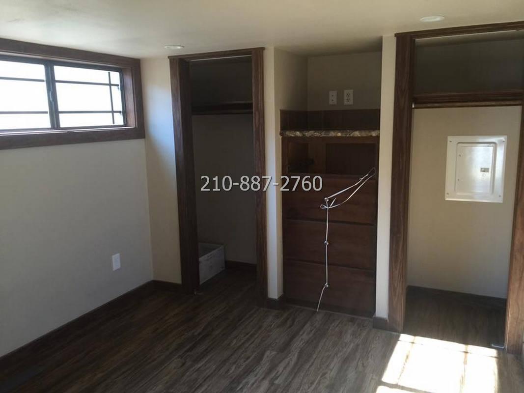 1 bedroom porch model cabin with loft-14