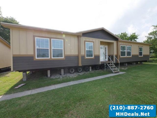 Meridian De Vaca 3 bed 2 bath New Doublewide home
