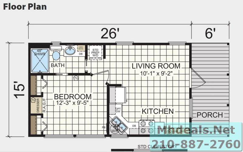 Athens 601 floorplan