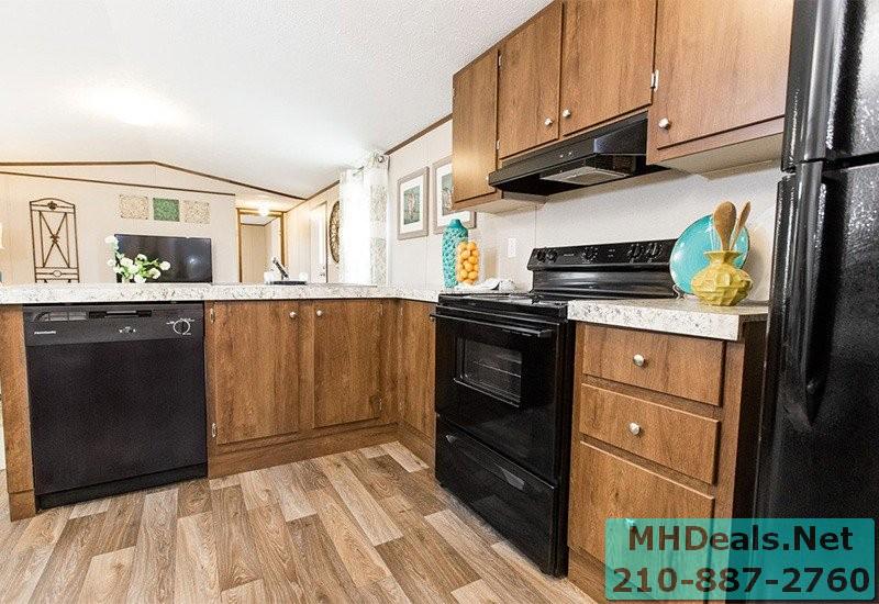 2 bed 2 bath New Singlewide Home Clayton Delight Kitchen