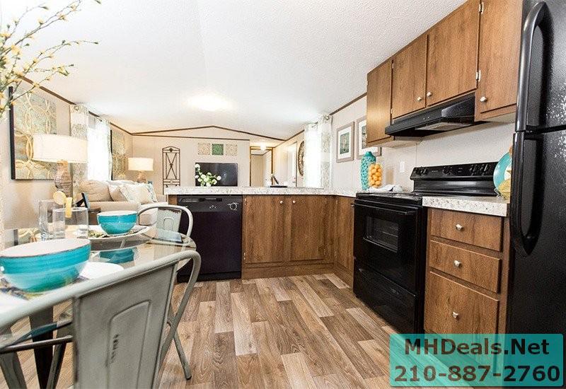 2 bed 2 bath New Singlewide Home Clayton Delight kitchen 2