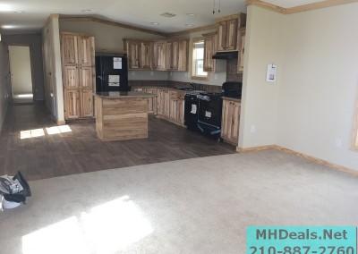 2 bedroom 1 bath cedar sided porch cabin living room