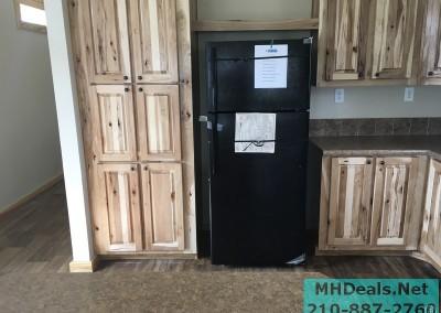 2 bedroom 1 bath cedar sided porch cabin kitchen 2