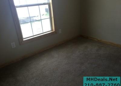 2 bedroom 1 bath cedar sided porch cabin bedroom